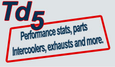 TD5 Performance parts